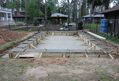 Фундамент под дом цена в Люберцах
