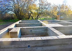 Установка свай фундамента в Красногорске