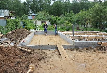 Проект производства работ по устройству монолитных фундаментов Одинцовский район